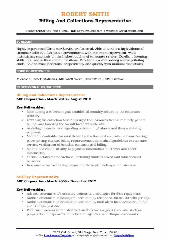 collections representative resume samples qwikresume collection format pdf assistant Resume Collection Resume Format