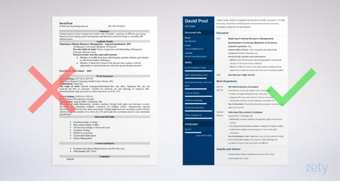 college freshman resume template guide examples first year student example course quality Resume Resume First Year College Student
