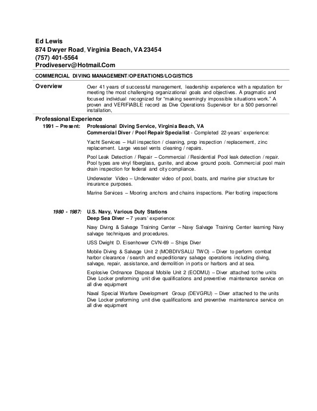 commercial diving resume scuba instructor aviation writing service office depot job Resume Scuba Instructor Resume