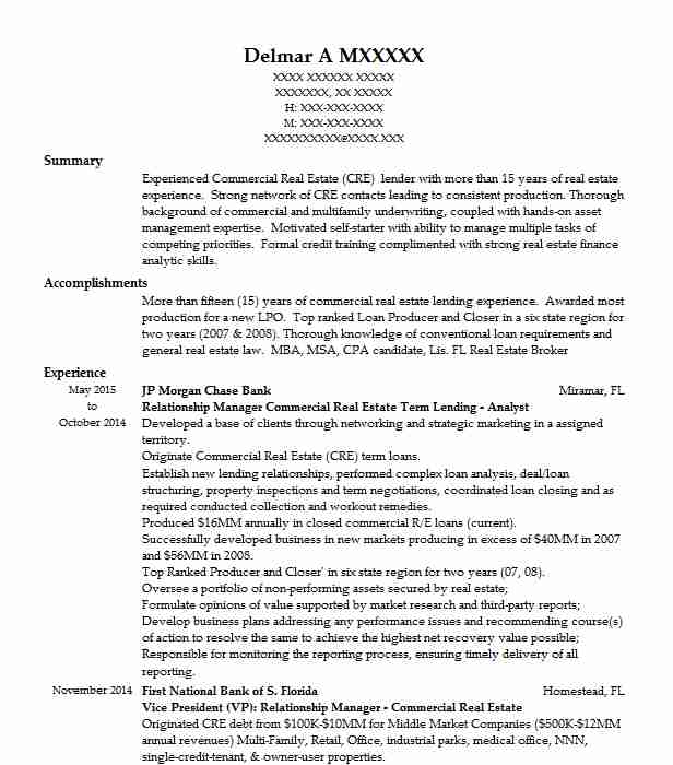 commercial estate analyst resume example carneghi partners daly city medical assistant Resume Real Estate Acquisitions Analyst Resume
