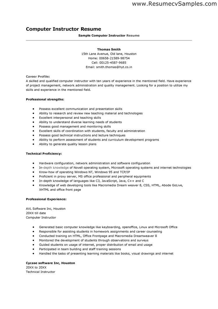 computer skills resume format http topresume info section student and abilities examples Resume Student Resume Skills And Abilities Examples