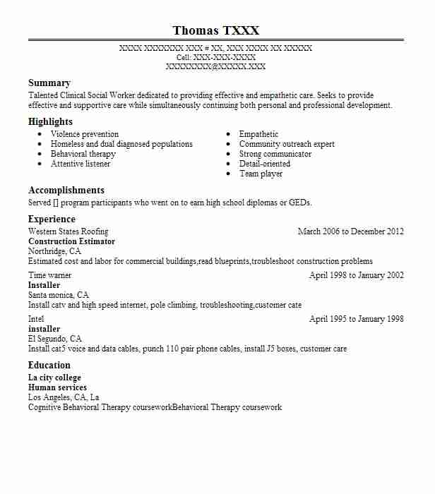construction estimator resume example resumes misc livecareer project manager aviation Resume Construction Estimator Resume
