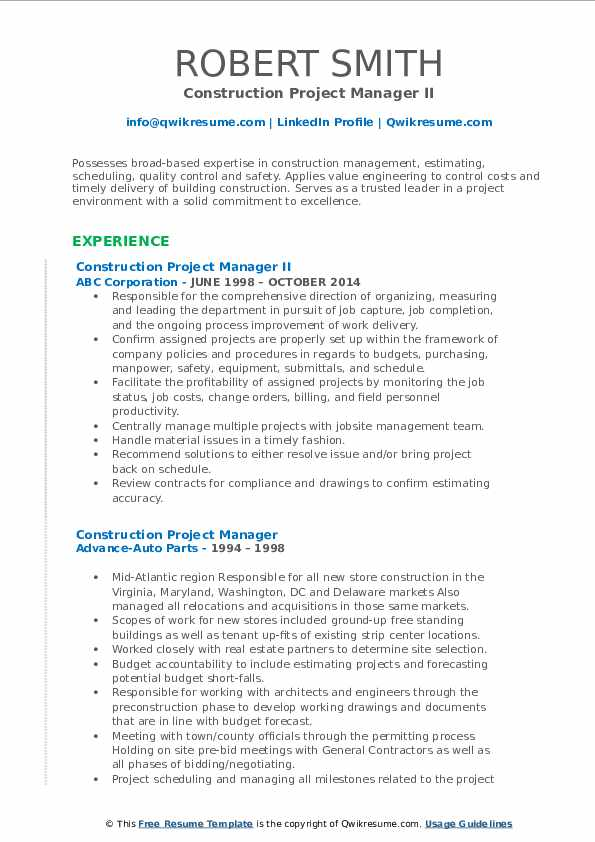 construction project manager resume samples qwikresume templates for microsoft word pdf Resume Construction Resume Templates For Microsoft Word