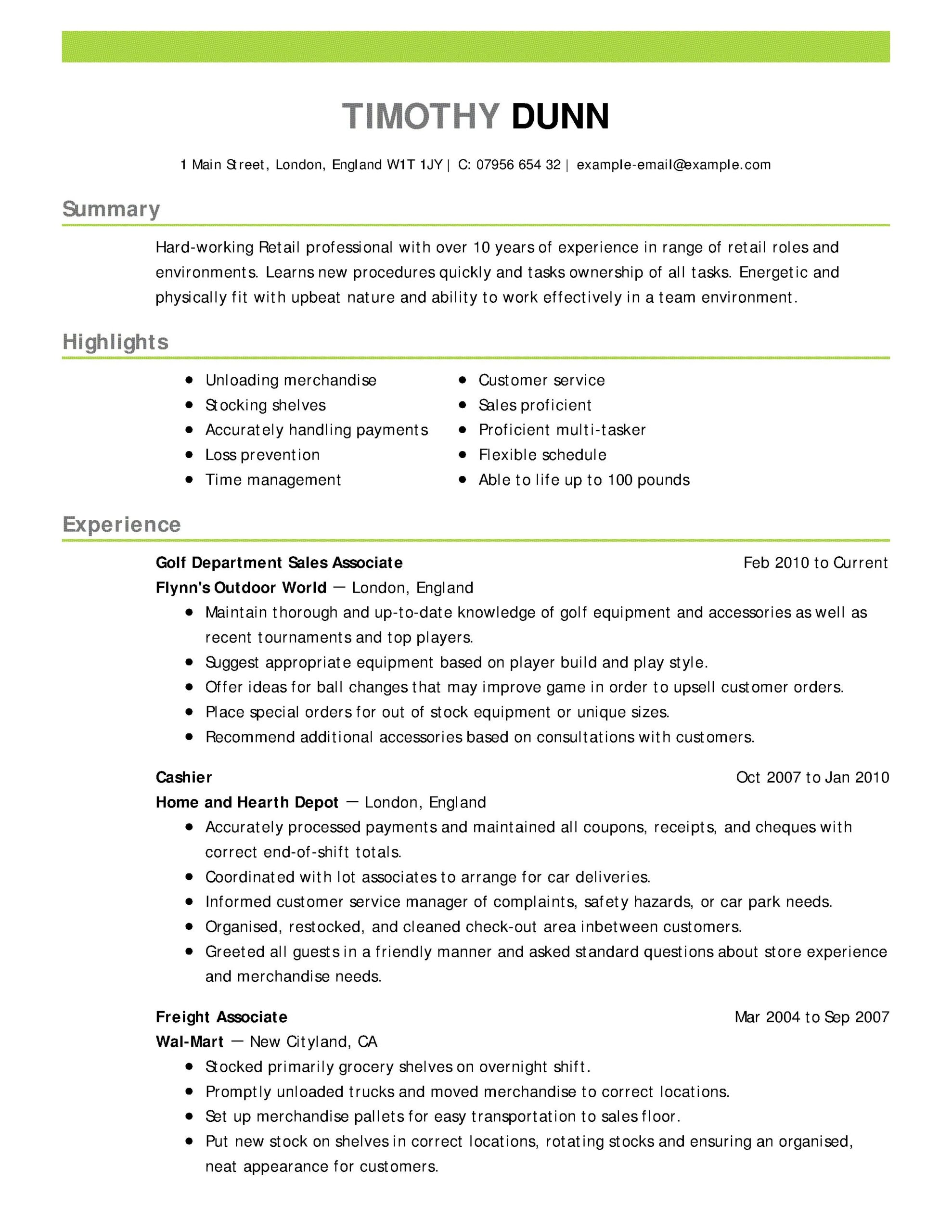 cool collection of sample resume textile supervisor objective examples good customer Resume Textile Supervisor Resume