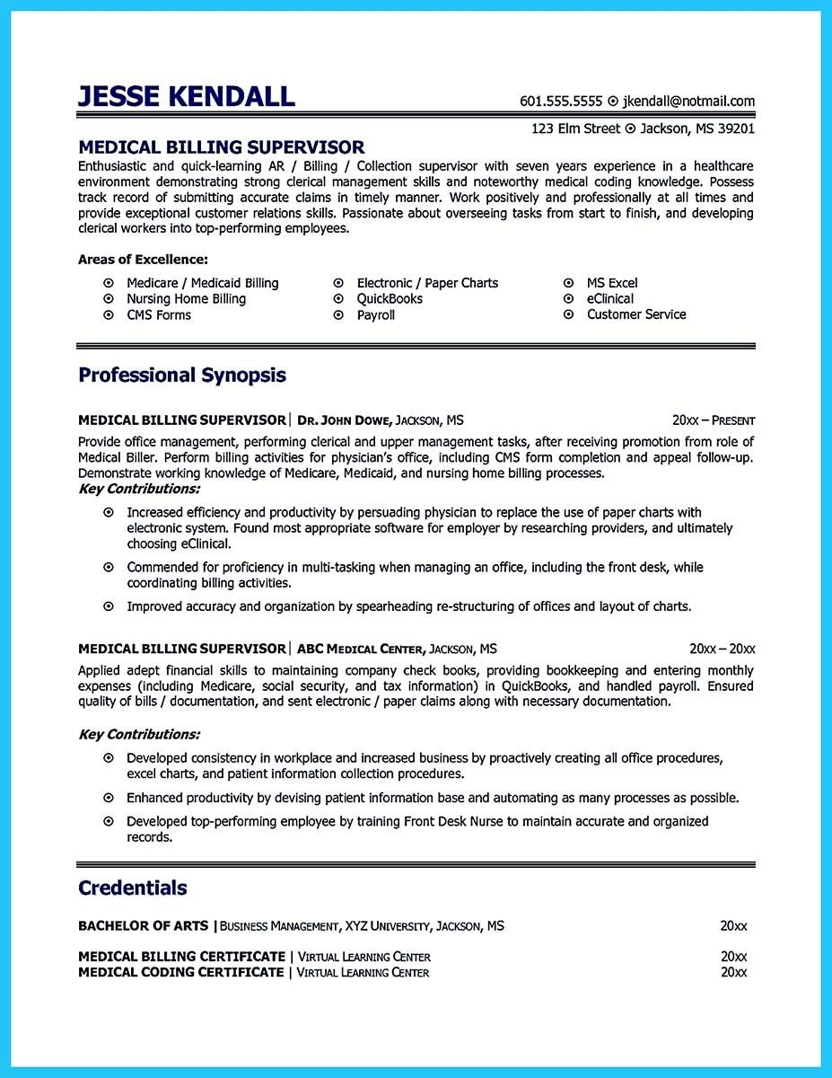 cool exciting billing specialist resume that brings the job to you medical coder and Resume Medical Billing Specialist Resume