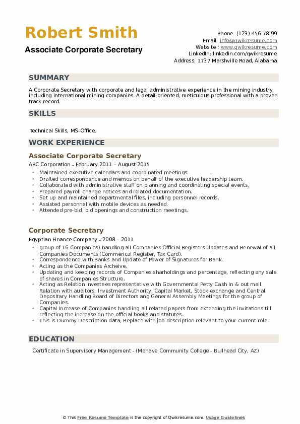 corporate secretary resume samples qwikresume company profile pdf collaborate with team Resume Company Secretary Profile Resume