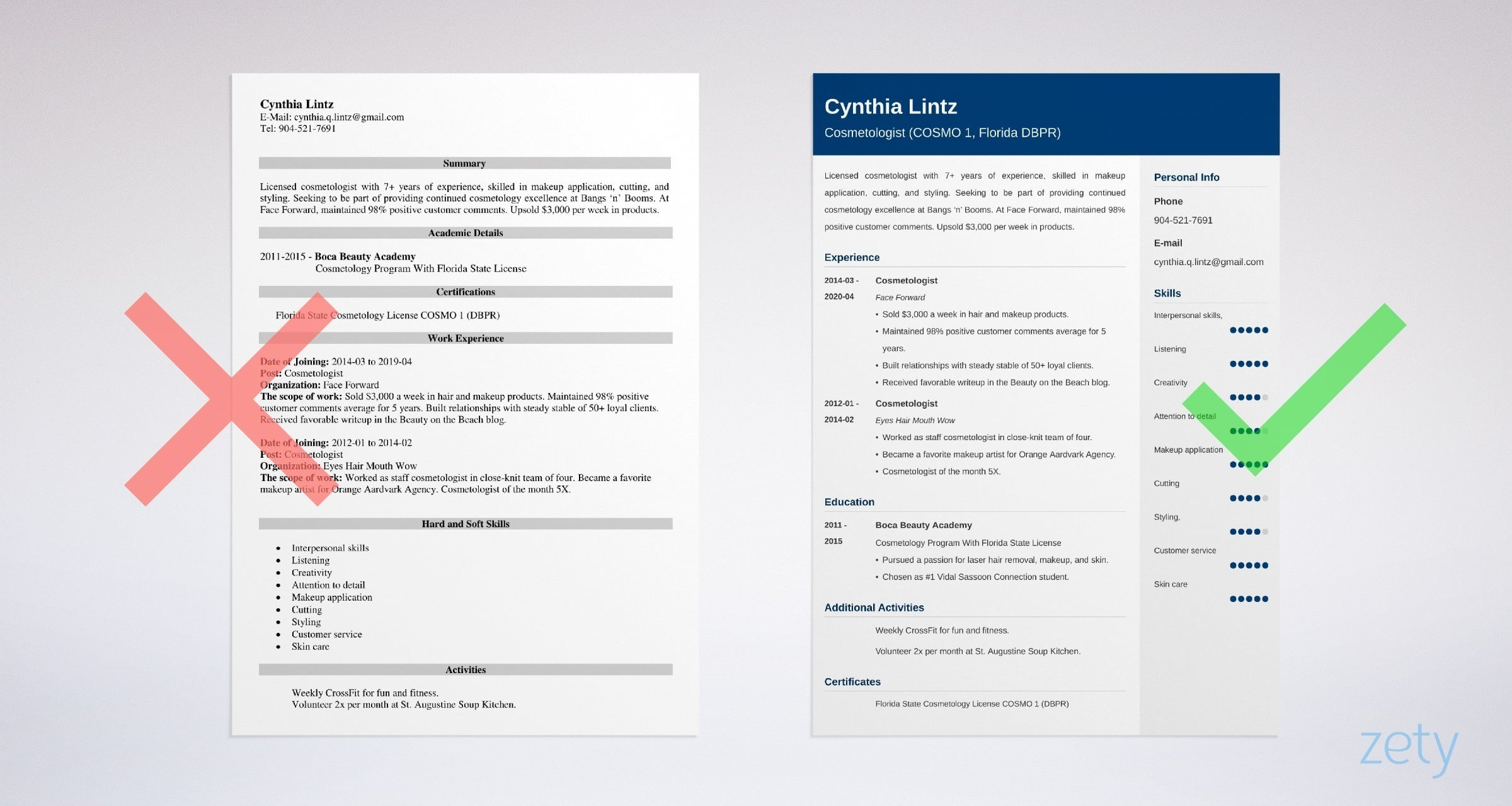 cosmetologist resume samples cosmetology skills included example recent graduate chef Resume Cosmetology Resume Example Recent Graduate