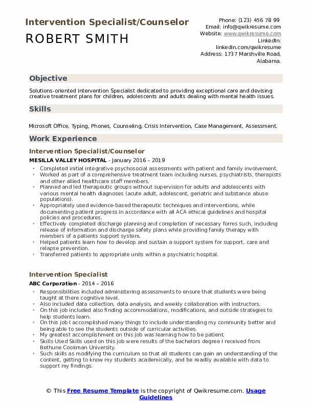 counseling intern resume samples qwikresume objective statement for internship Resume Resume Objective Statement For Internship