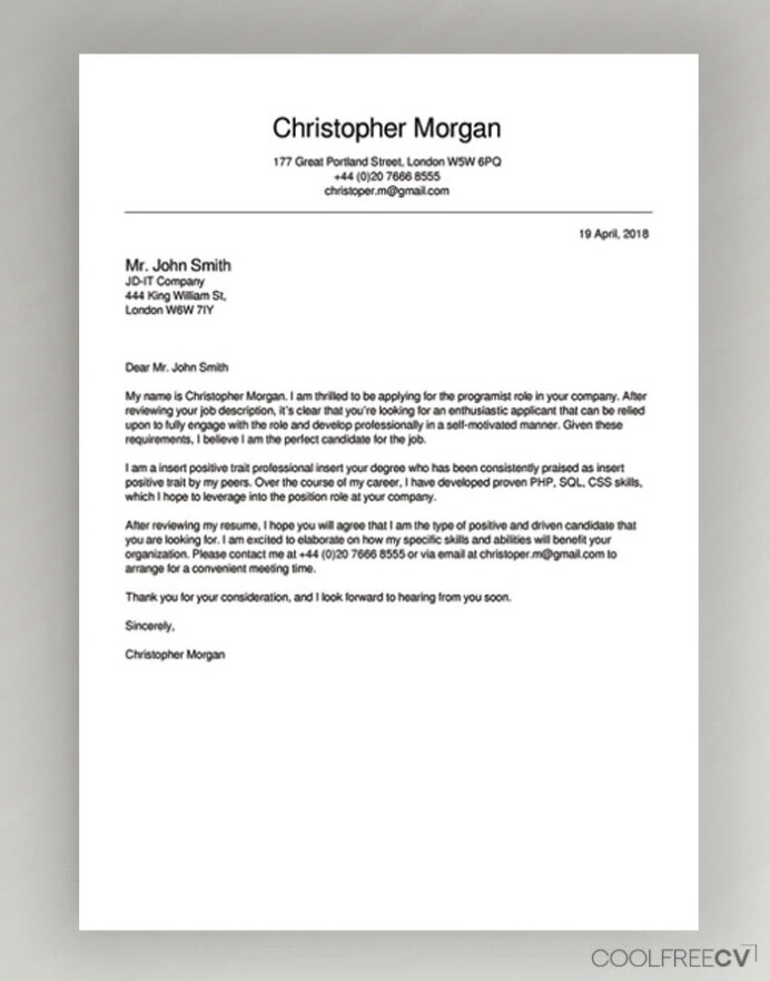 cover letter maker creator template samples to pdf create for resume free example craft Resume Create Cover Letter For Resume Free