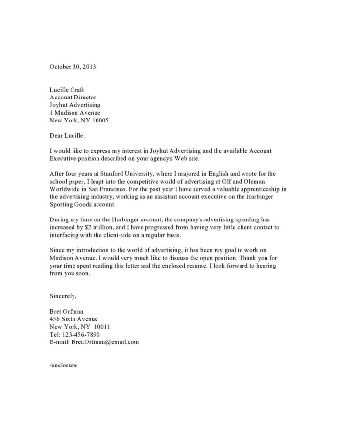 cover letter samples templates examples vault good for resumes cletreadv06 account Resume Good Cover Letter Examples For Resumes