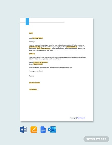 cover letter templates in google docs template net and resume fresher engineer format for Resume Cover Letter And Resume Template Google Docs