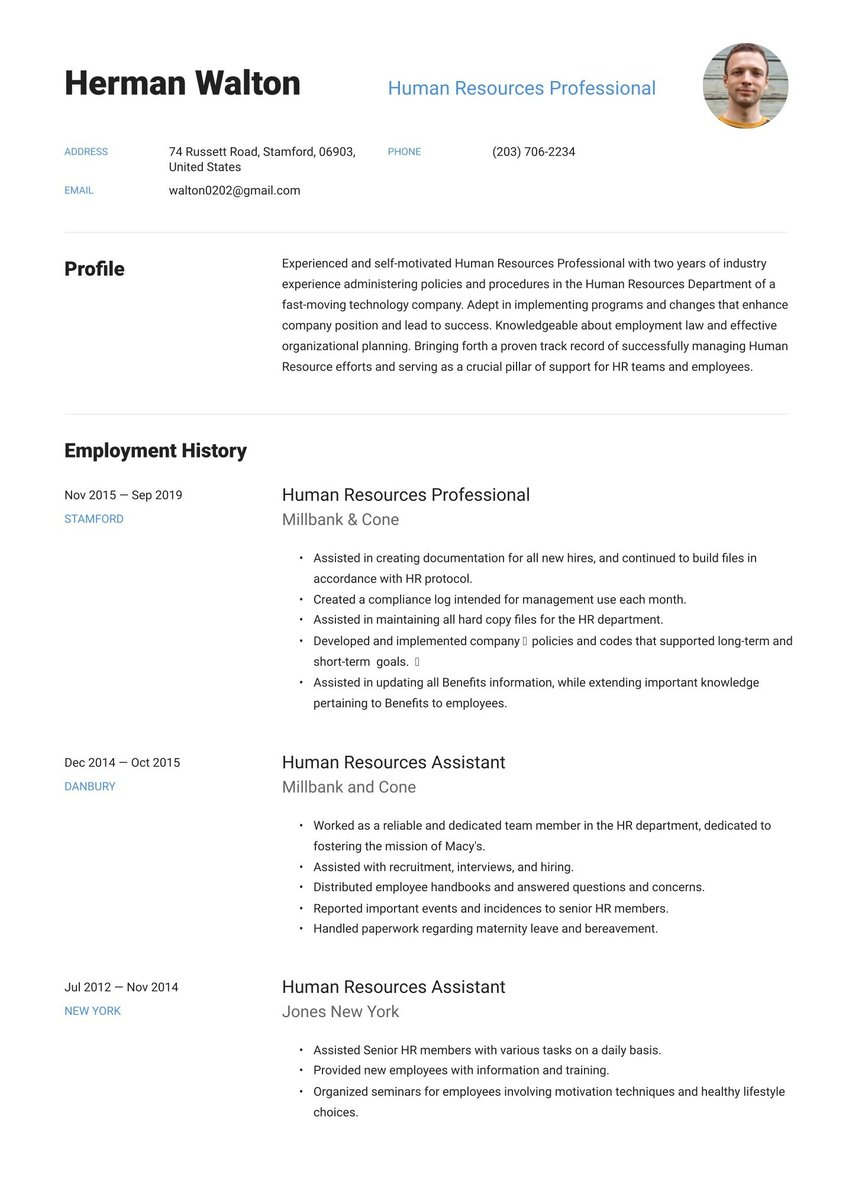 create your job winning resume free maker io template for term employment indesign basic Resume Free Resume Template For Long Term Employment