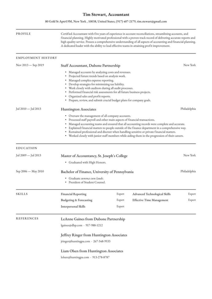 create your job winning resume free maker io to for modern minimalist external auditor Resume Where To Create A Resume For Free
