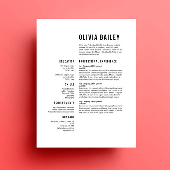 creative and appropriate resume templates for the non graphic designer paste well Resume Well Designed Resume Templates