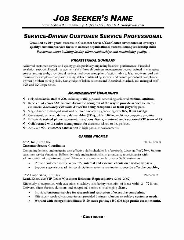 customer service action plan examples awesome resume sample topresume skills summary math Resume Skills Summary Resume Customer Service