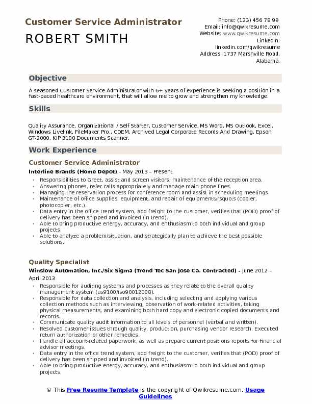 customer service administrator resume samples qwikresume words for pdf matching claims Resume Resume Words For Customer Service