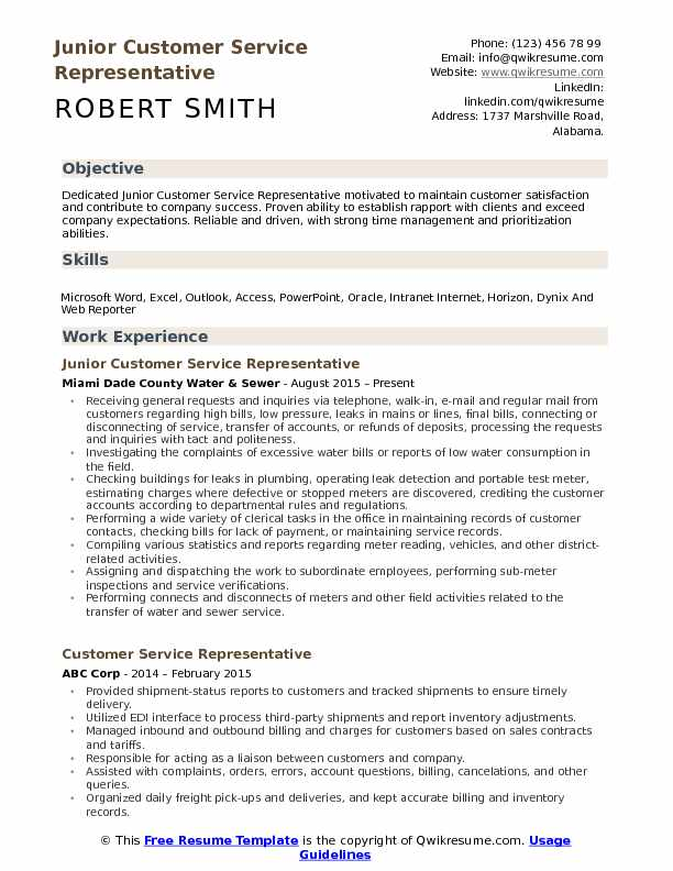customer service representative resume samples qwikresume experience objective pdf Resume Customer Service Experience Resume Objective