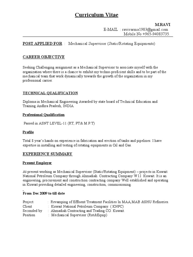 cv for mechanical supervisor pipe fluid conveyance piping resume word format writing logo Resume Piping Supervisor Resume Word Format