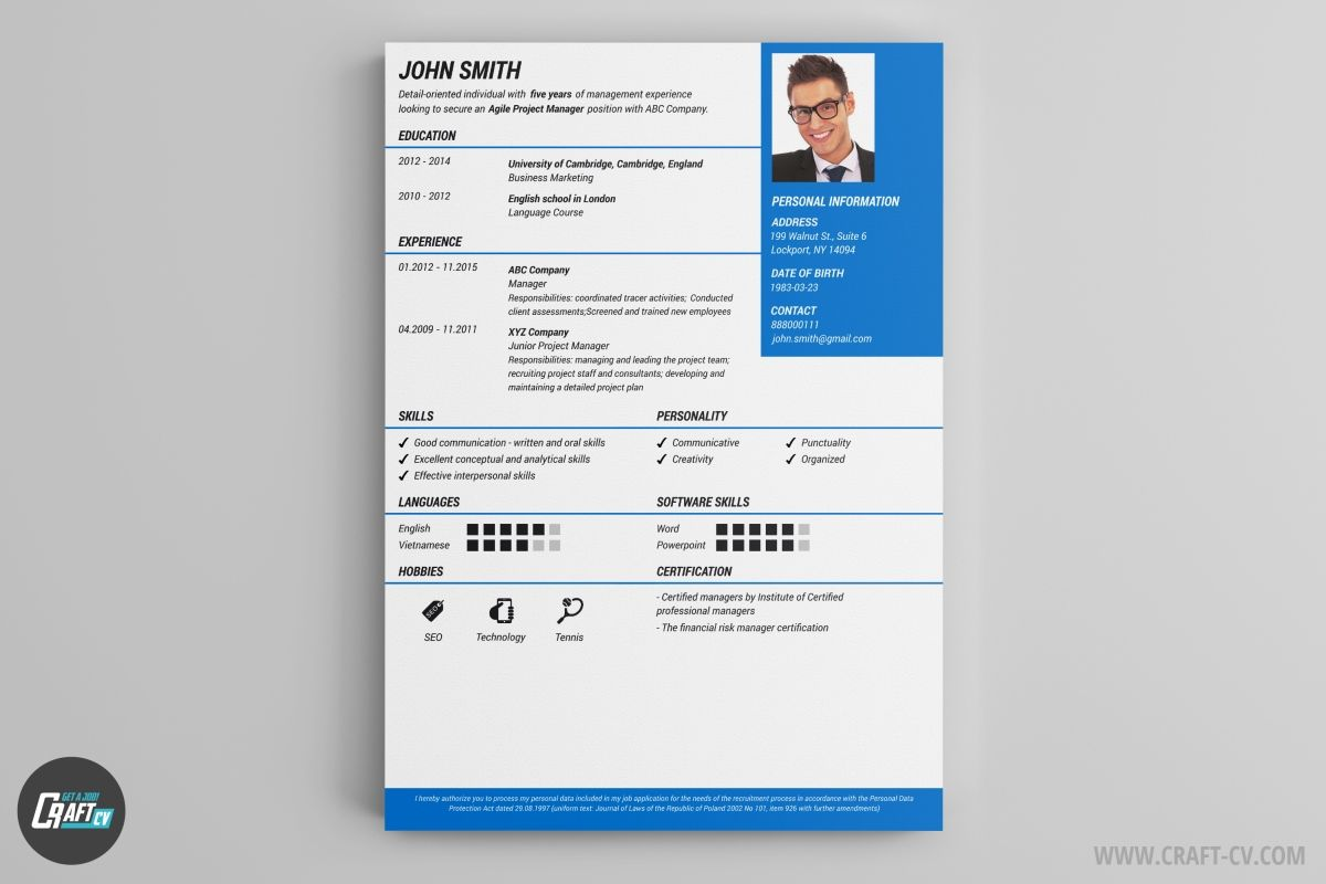 cv template free resume format builder templates mortgage summary examples german example Resume Free Online Resume Templates