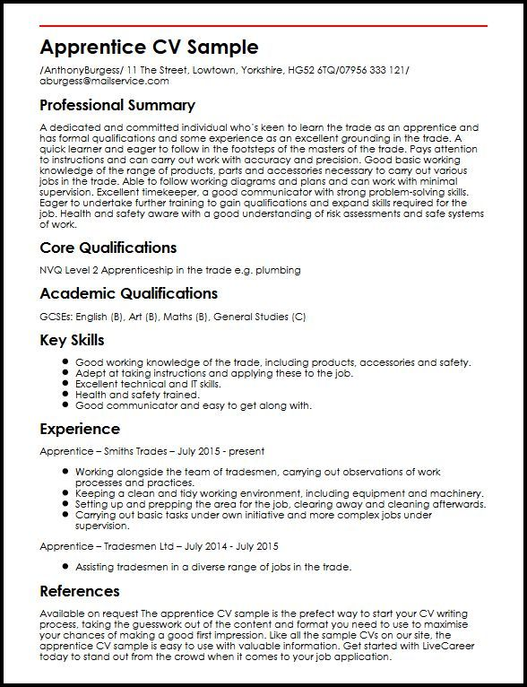 cv template qualifications good best resume examples for construction president objective Resume Qualifications For Resume