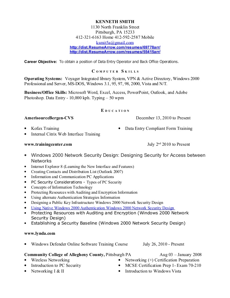 data entry resume louiesportsmouth objective sample Resume Data Entry Objective Resume Sample