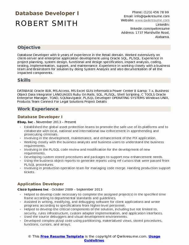 database developer resume samples qwikresume sample pdf focus statement analyst career Resume Database Developer Resume Sample
