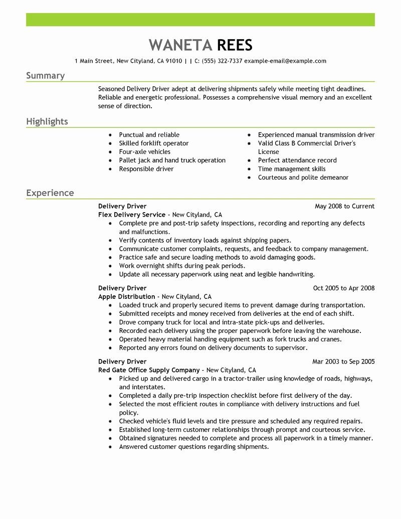 delivery driver job description resume beautiful sample resumes examples for uber new Resume Resume For Uber Driver