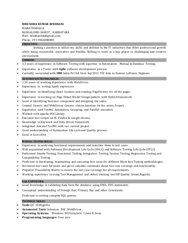 developer resume years experience march sample for home caregiver skills portion of wr Resume Sample Resume For 3 Years Experience