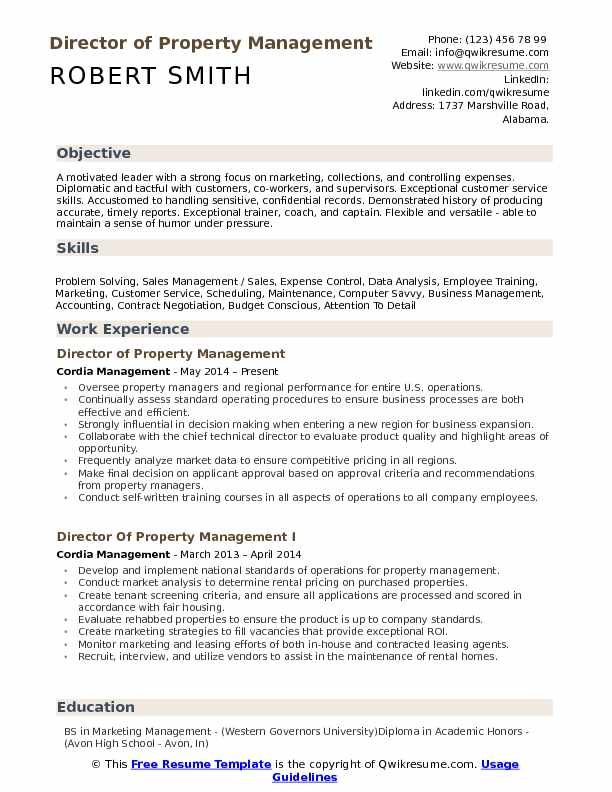 director of property management resume samples qwikresume manager examples pdf peaks Resume Property Manager Resume Examples