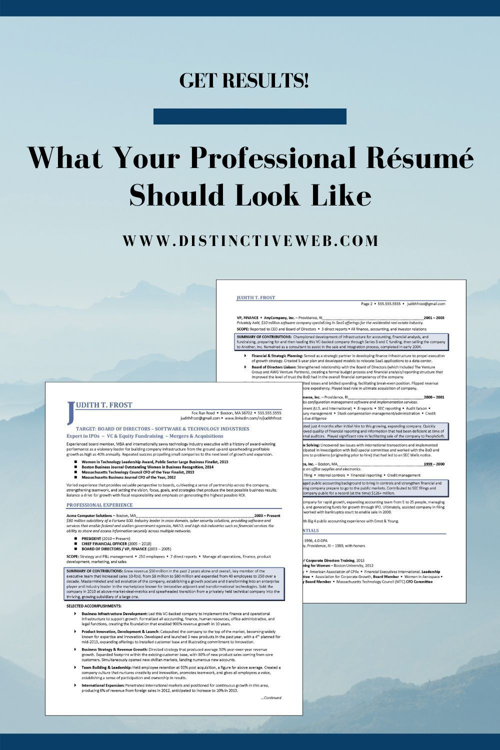 done for you resume templates in professional examples eye catching duplicity chief Resume Eye Catching Resume 2020