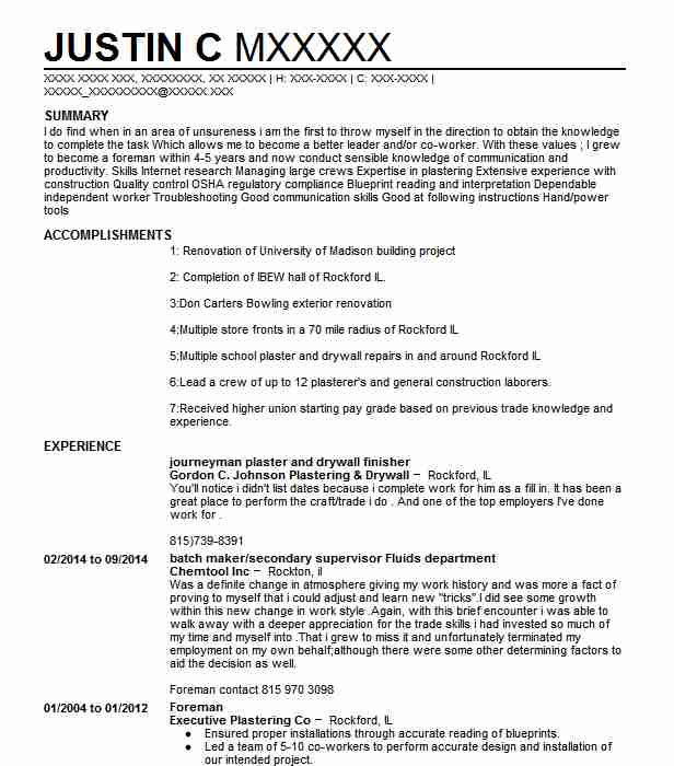 drywall and plastering resume example spude llc pere taper sample professional background Resume Drywall Taper Resume Sample