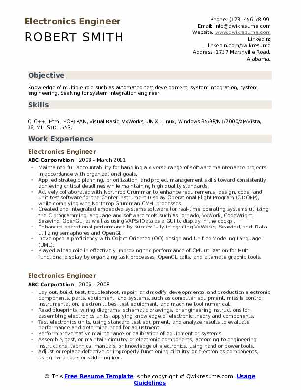 electronics engineer resume samples qwikresume quality pdf security example science Resume Electronics Quality Engineer Resume