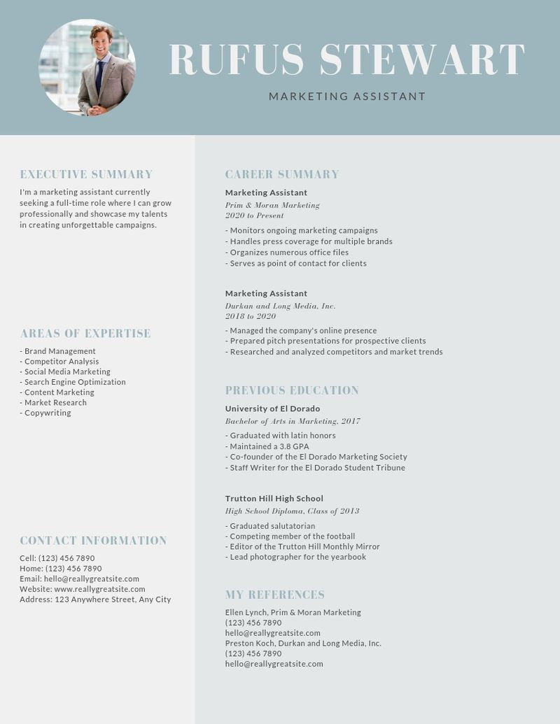 emphasize career highlights on your resume by using color strategically learn template Resume Good Resume Look Like