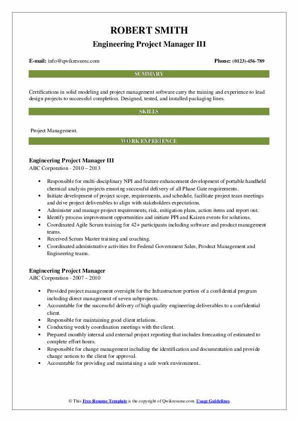 engineering project manager resume samples qwikresume examples pdf healthcare objective Resume Engineering Project Manager Resume Examples