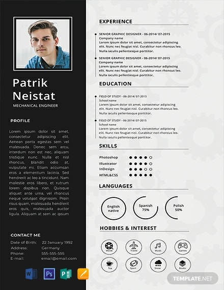 engineering resume templates word indesign apple publisher illustrator template net free Resume Engineering Resume Templates Word