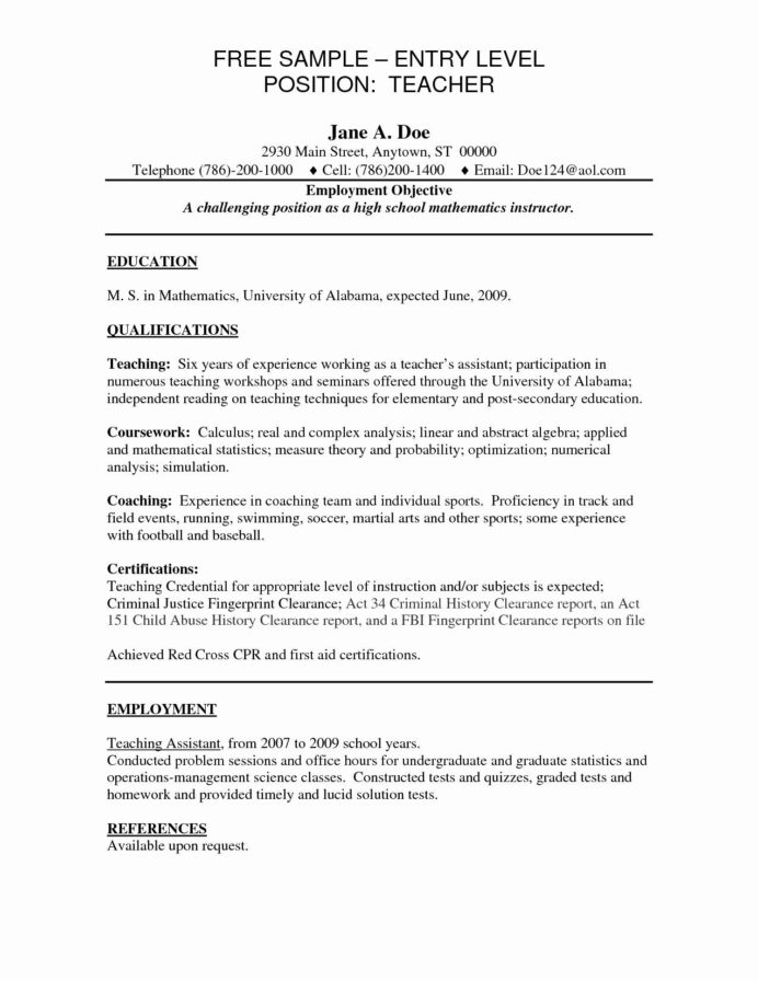 entry level product manager resume inspirational sample career objective for teachers Resume Entry Level Teacher Resume Objective
