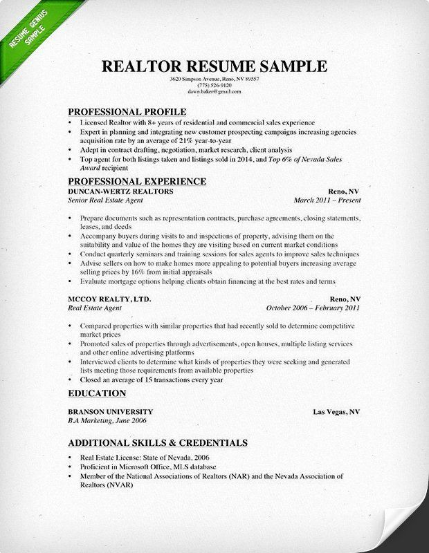 estate agent resume example best of writing guide in good examples guided services cctv Resume Resume Format For Real Estate Job
