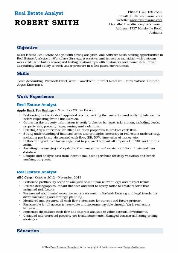 estate analyst resume samples qwikresume acquisitions pdf cna qualifications computer Resume Real Estate Acquisitions Analyst Resume