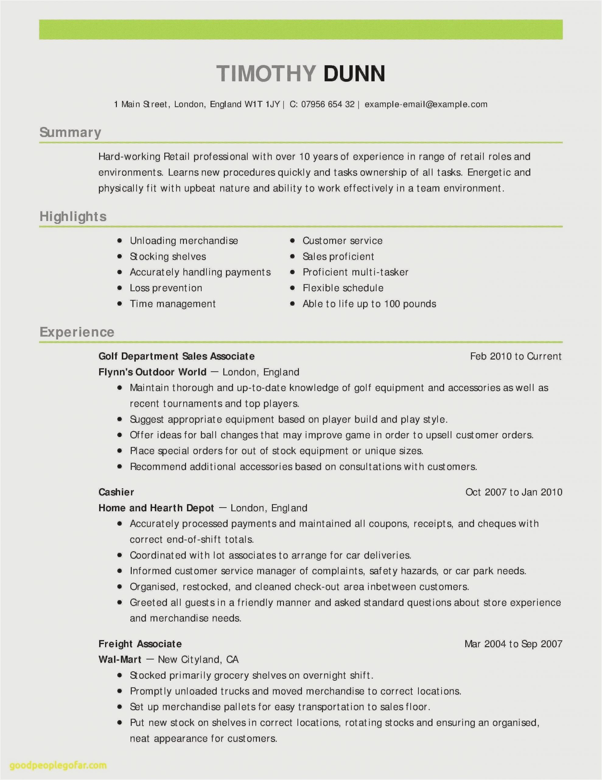 example of simple resume format sample examples scaled probation officer job description Resume Simple Resume Format Examples