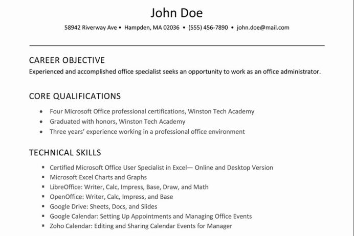 excel skills resume examples luxury to software on résumé in job for microsoft office Resume Microsoft Office Skills Resume