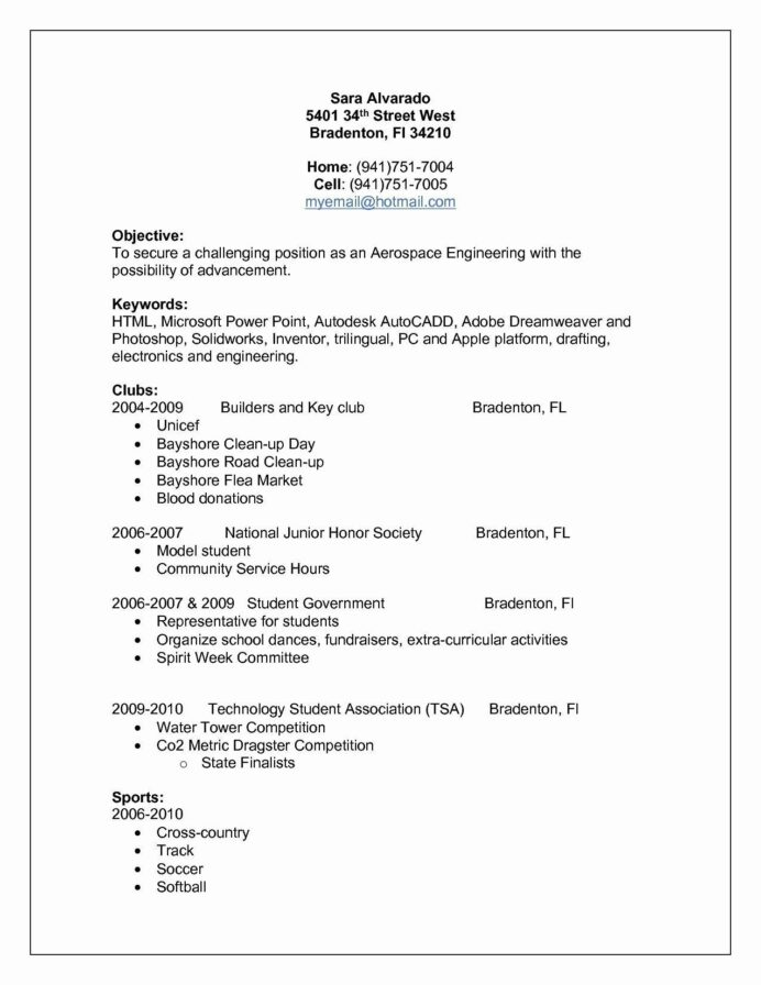 extra curricular activities for resume luxury unique profess student template examples Resume Another Word For Extracurricular Activities On Resume