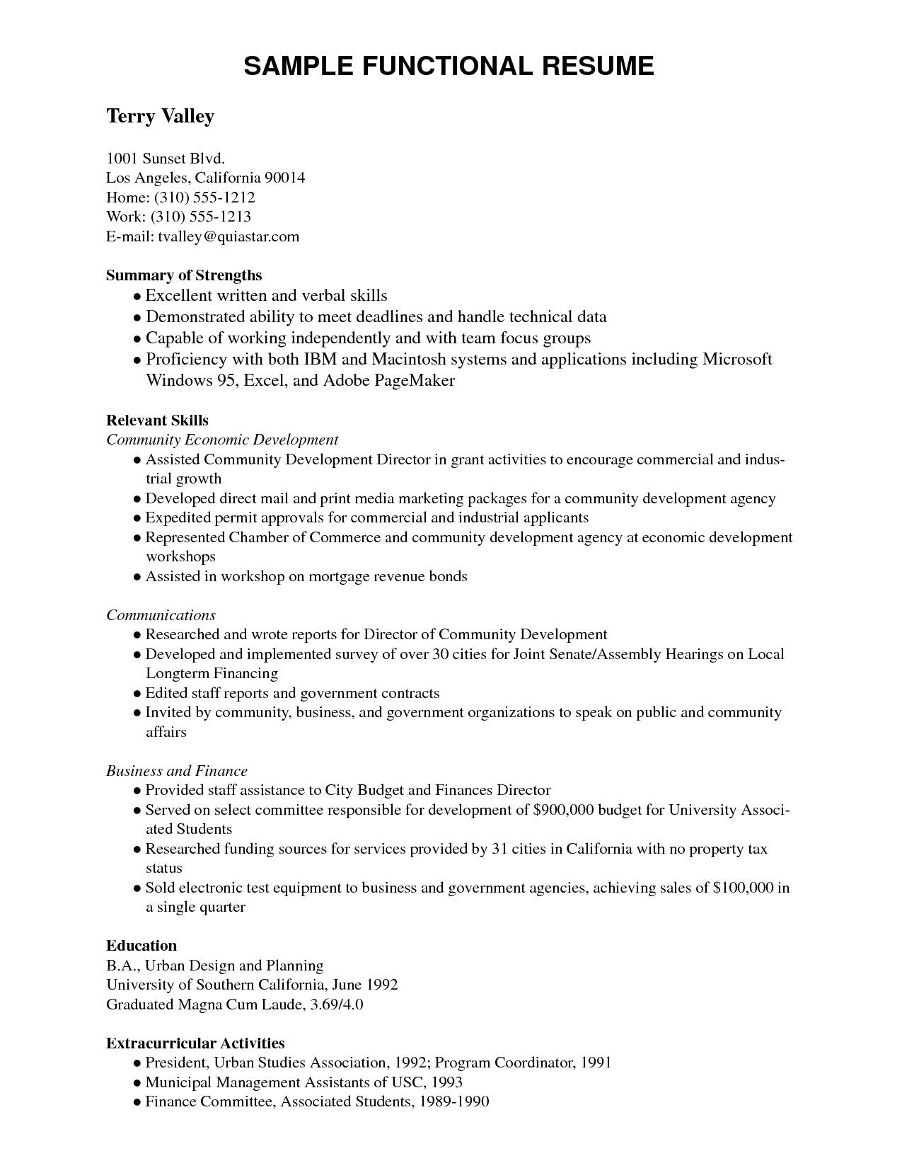 extracurricular activities in resume for freshers sample best examples another word on Resume Another Word For Extracurricular Activities On Resume
