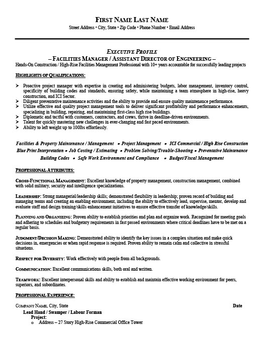 facilities manager resume template premium samples example director of accounting writing Resume Director Of Facilities Resume