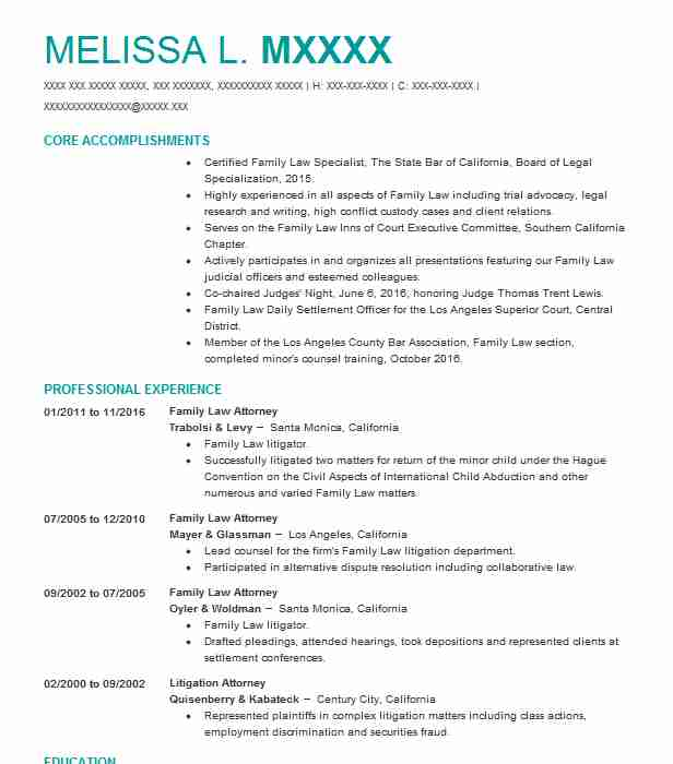 family law attorney resume example offices of melissa patten salt city military examples Resume Family Law Attorney Resume