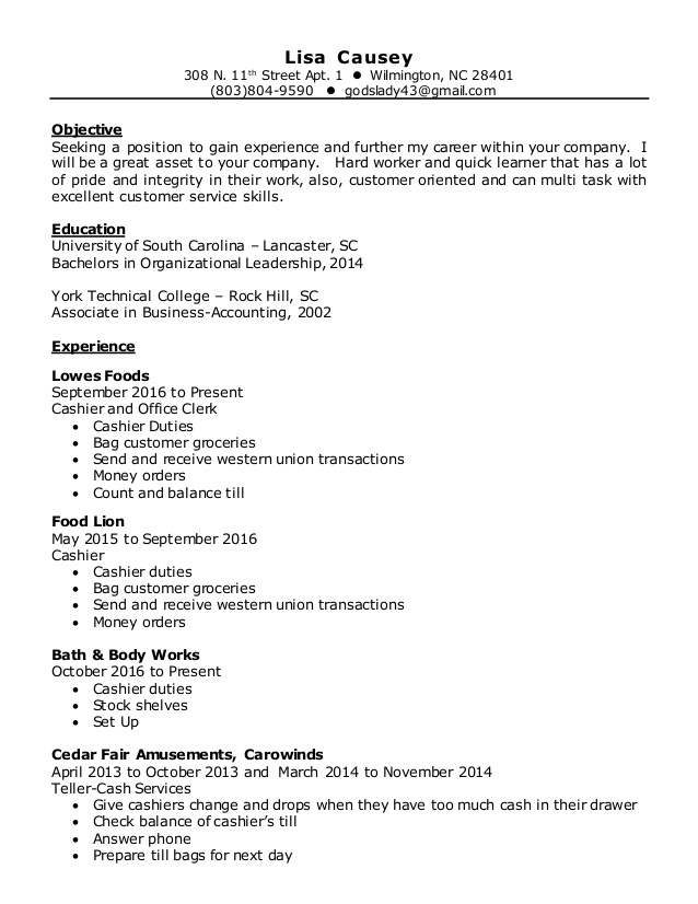 federal resume ksa writing service standard font style for and body works job description Resume Lowes Job Description For Resume
