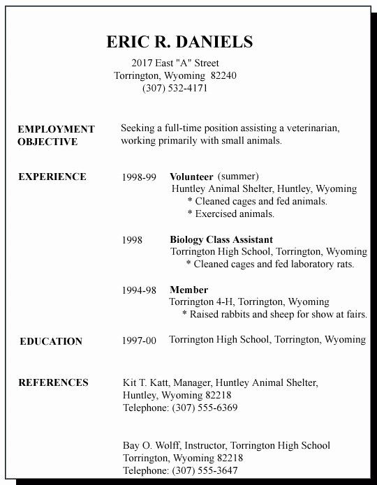 first job resume template best of sample for time seeker examples rotational program Resume First Time Job Resume Examples