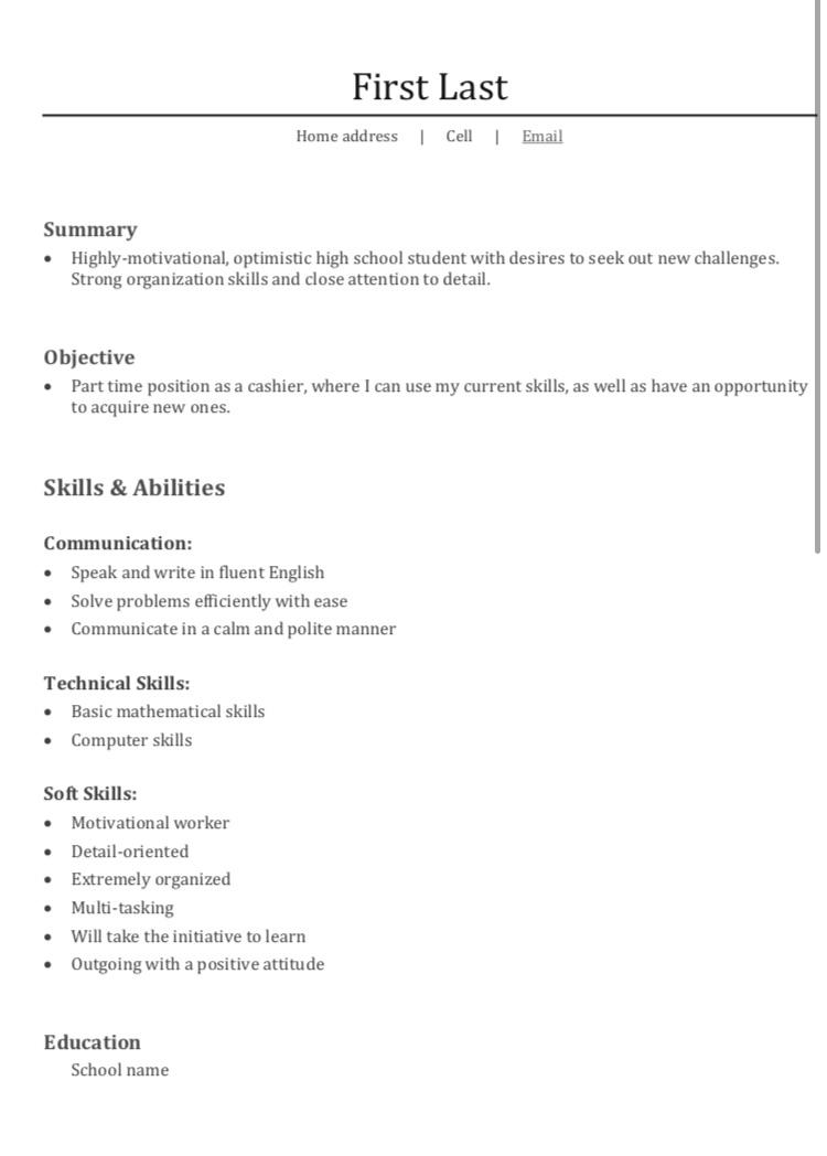 first resume for job it pretty empty can do to improve my resumes 59focd659nh21 best Resume Where Can I Do A Resume
