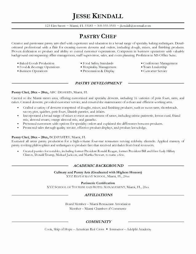 food service resume objective examples elfaro for bakery job unique manager mightbe of Resume Resume Objective For Bakery Job