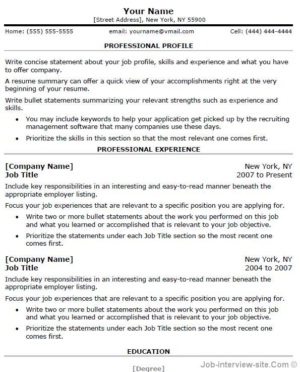 for free resume samples to copy format of communication section on funniest ever resident Resume Communication Section On Resume
