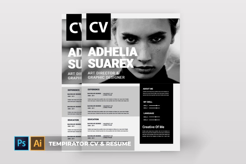 free attractive resume cv templates with stylish designs to tempirator feature profile vs Resume Free Resume Templates 2020